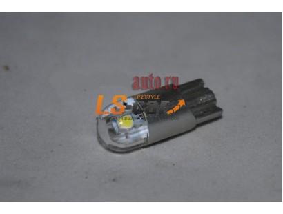 Светодиодная лампа для а/м T10-3030-2SMD-Canbus 12V/белый