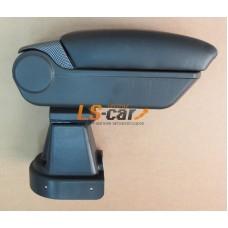 Подлокотник Chevrolet Aveo T250 2006-2011 карбон (48025BK+CA)