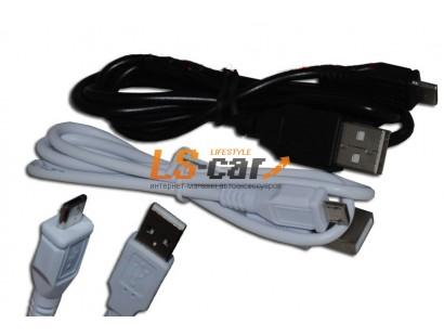 Кабель переходник V8 USB-Micro White 82 см Тorino