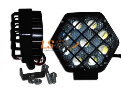 Фонарь светодиодный  JR-27W 13,5*12*7см, LED-9 (9-30V)