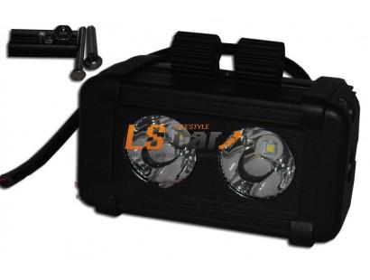 Фонарь светодиодный D-20W  SPOT 12,5*6,5*9см, LED-2 (9-30V)