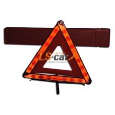 Знак аварийной остановки средний металл