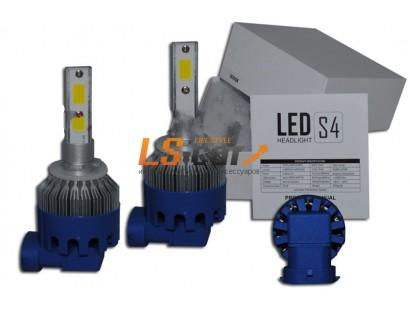 Лампа головного света со светодиодами CREE H27-881-S4 40W/8000LM 6500K 12-24 V(со встр, вентилятором, беспрововодная)