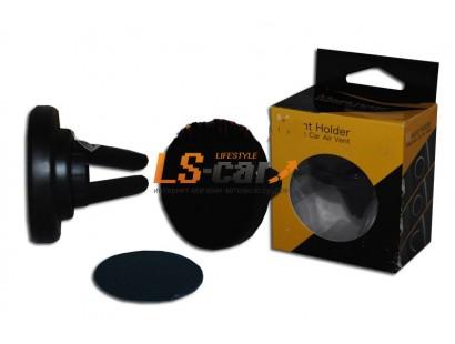 Держатель магнитный CT-9-3 черный  для телефона/смартфона  на вентиляцию  (Magnetic Air)
