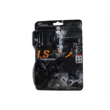 Держатель для мобильного  телефона S2159-C (регулировка угла наклона, поворотный на 360 гр, раздвижной 40-92 мм) на панель, черный