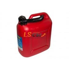 Канистра для топлива Dollex (пластмассовая с носиком 10л)/KPN-010