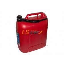 Канистра для топлива Dollex (пластмассовая с носиком 20л)/KPN-020