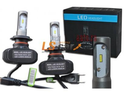 Лампа головного света со светодиодами CREE H8-R-S1 4000LM  9-32 V