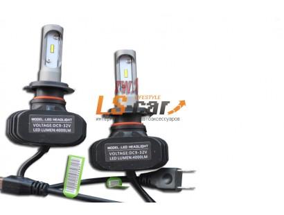 Лампа головного света со светодиодами CREE HB4-9006-R-S1 4000LM  9-32 V