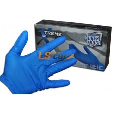 Перчатки AMMEX нитриловые XNFST46100 BLUE размер L (упаковка 100 штук)