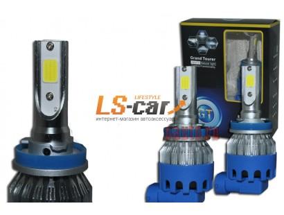 Лампа головного света со светодиодами CREE H11-R8 36W/3800LM 8-48V (со встр, вентилятором, беспрововодная)
