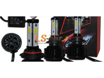 Лампа головного света со светодиодами CREE H8-Х4 30W/3800LM 8-48V (со встр, вентилятором)