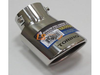 Насадка на глушитель нержавеющая сталь HJ-2012 CRV
