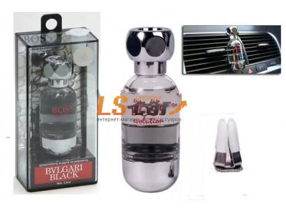 "Ароматизатор воздуха на дефлектор  ""BOSS Evolution"" Bvlgari Black EVO-151 (13 мл.)/20/80"