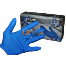 Перчатки AMMEX нитриловые XNFST44100 BLUE размер М (комплект 2 шт)