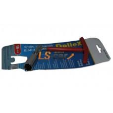 Ключ свечной шарнирный х16 (210 мм) с резинкой Dollex/KS-16071