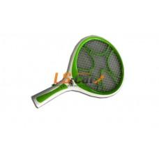 Мухобойка для насекомых электрическая (аккумуляторная) Rechargeable Electronic Mosquito Bat (электропитание-AC110V/220V,подсветка  светодиодная 3 LED /LED-812