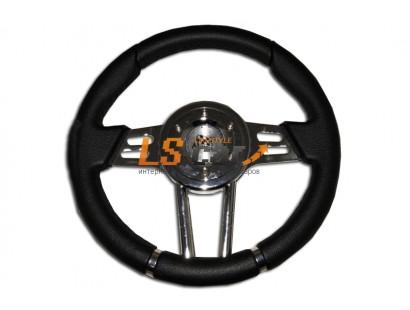 Рулевое колесо PT-4166 BK (черный) 320mm
