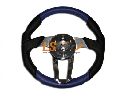 Рулевое колесо PT-5112 (синий) 350mm
