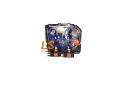 Лампа галогеновая H15 12V 15/55W   F9 BOX  (комплект 2шт)