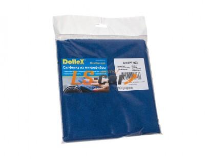 Салфетки  микрофибра SPT-002 (35х40см.-1шт) Dollex/SPT-002
