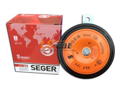 Сигнал звуковой электрический WD-50F (TZ-B002-90-2 SEGER ) 90mm, 435Hz HT 12V