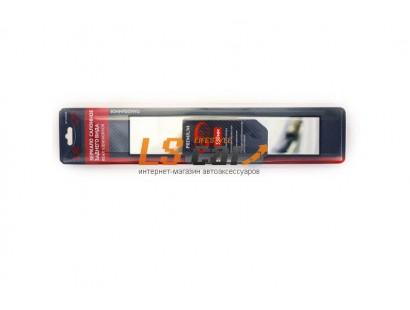 """Зеркало внутрисалонное панорамное прямоугольное прямое 330*72мм(премиум) """"Autovirazh"""" AV-012330"""