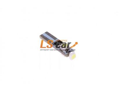 Светодиодная лампа для а/м T5-3528 3-SMD-Canbus    (12V белый)