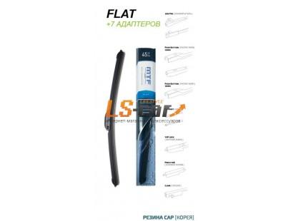 Щетка стеклоочистителя MTF light FLAT, Бескаркасная, графитовое покрытие, 400мм (16''), 1 шт.