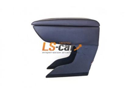 Подлокотник для автомобиля ВАЗ 2108;-09;-13;-14;-15 черный, экокожа