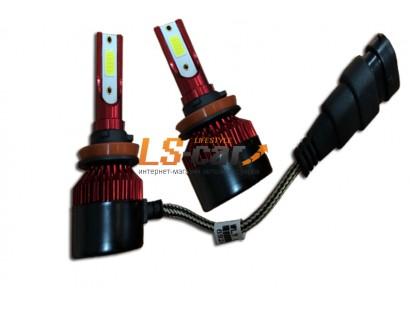 Лампа головного света со светодиодами CREE H27-880-P30M 36W/3800LM 6000K 12V(со встр, вентилятором)