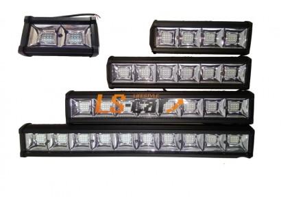 Фонарь светодиодный L72W216  8(3*3)led  (9-30V) 435*75*55mm