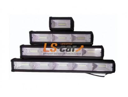 Фонарь светодиодный S72W216  3*(2*12)led  (9-30V) 340*75*55mm