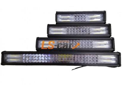 Фонарь светодиодный 4DK72W216  3*8+2(2*12)led  (9-30V) 370*75*55mm