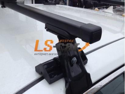 Багажник D-1 на гладкую крышу с прямоугольными дугами 130см (в сборе:2 поперечины,4 опоры)/55181003