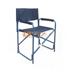 "Кресло складное ""СЛЕДОПЫТ"" 585х450х825 мм, сталь 20 мм, синий/PF-FOR-SK03"
