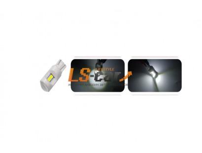 Светодиодная лампа для а/м T10-3030-6SMD-LENS 12V