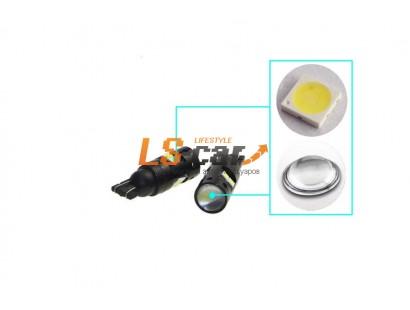 Светодиодная лампа для а/м T10-3030-8SMD-LENS 12V