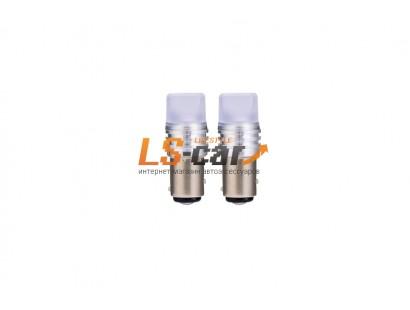Светодиодная лампа для а/м 1156-3528-6SMD матовая колба 12V
