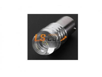 Светодиодная лампа для а/м 1157-5630-3SMD прозрачная колба 12V