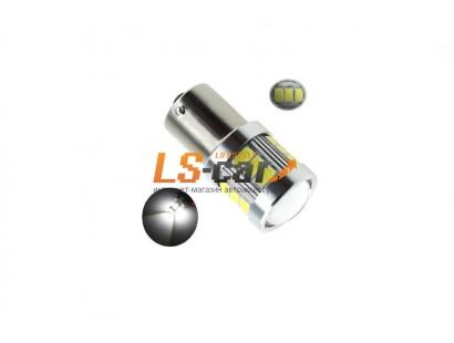 Светодиодная лампа для а/м 1157-5730-18SMD-LENS 12-24V