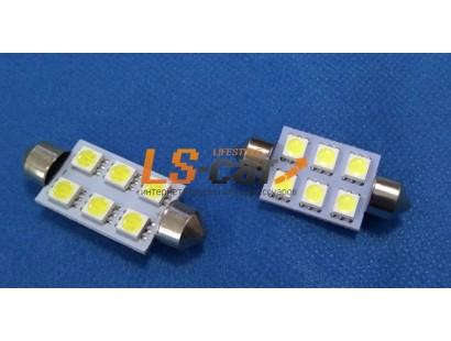 Светодиодная лампа SJ-5050-6SMD-39mm 12-24V