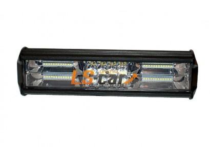 Фонарь светодиодный  FS60W180 ближний/дальний  3*4+2(2*12)led  (9-30V) 310*75*55mm