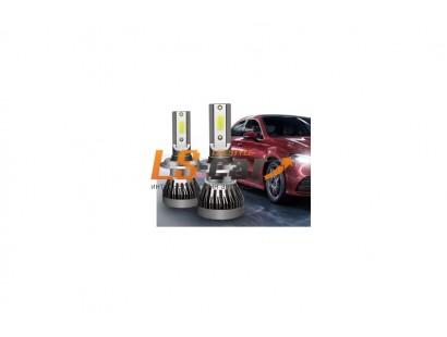 Лампа головного света со светодиодами CREE H4-MINI -2 60W/6000LM 9-32V (без вентилятора)