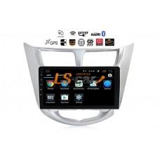Автомагнитола- штатное головное устройство Android 8.1 Hyundai Solaris 1ое поколение 2010-2018