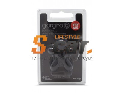 Ароматизатор на дефлектор Joy Fragrances JGIORG Древесина кедра черный 4,5х5см/ JGIORG05RU/6