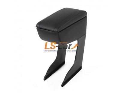 Подлокотник для автомобиля NISSAN ALMERA, черный, экокожа