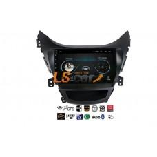 Автомагнитола- штатное головное устройство Android 8.1 Hyundai Elantra 2011-2013 5ое поколение
