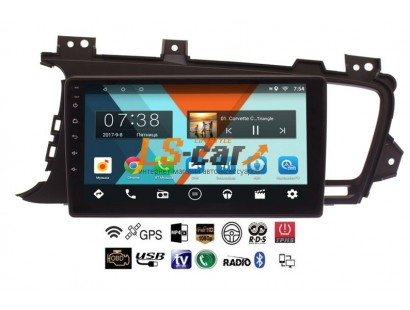 Автомагнитола- штатное головное устройство Android 8.1 Kia Optima III 2010-2013 дорейсталинг