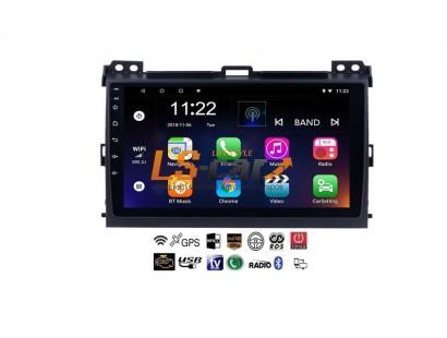 Автомагнитола- штатное головное устройство Android 8.1 Toyota Prado 120 2005-2009